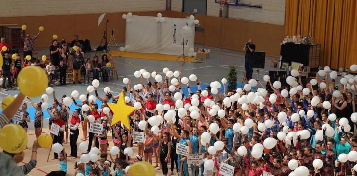 El Club Gimdans Rítmica de Vilafranca recapta 6.759€ per la 12a Nit Solidària