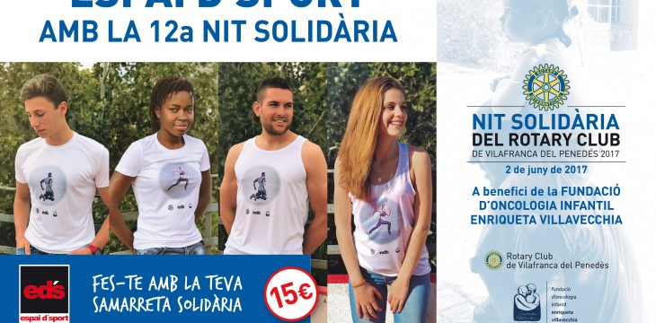 Espai d'Sport se suma a la 12ª Nit Solidària